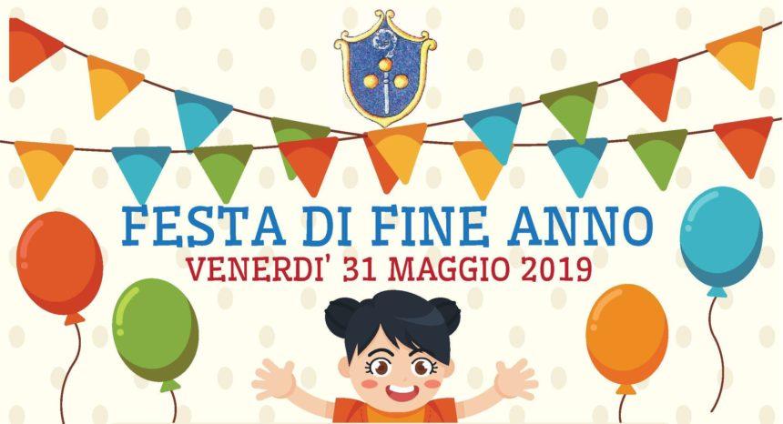 Festa di fine anno 31 maggio 2019