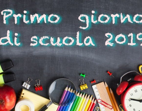 Primi giorni di scuola e messa di inizio anno A.S. 2019/2020