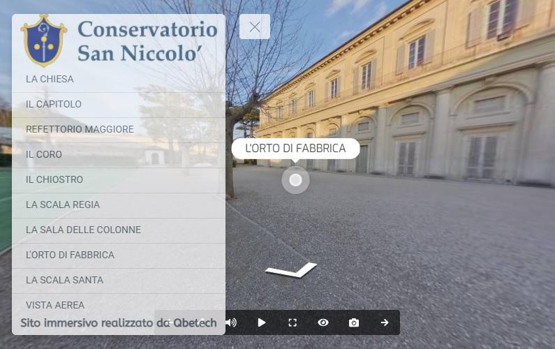 Tour virtuale di San Niccolò